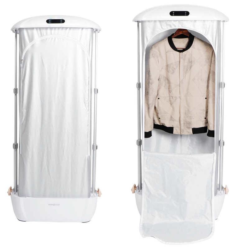 900 واط للطي طوي تصميم الأشعة فوق البنفسجية الحديد البخار مجفف الملابس كامل ماكينة ألواح حديد أتوماتيكية ستة ثقوب البخار AU 220 فولت 30/70/180 دقيقة