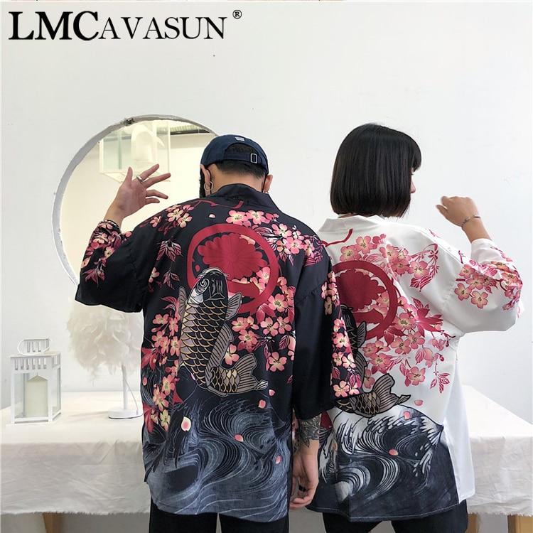 Kimono tradicional japonés LMCAVASUN, kimono para mujeres yukata, ropa japonesa para mujeres, kimonos japoneses tradicionales, kimono para chicas a la moda