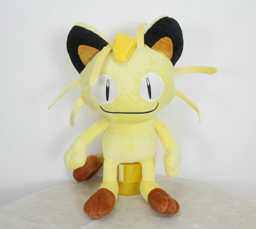 Takara Tomy Pokemon Doll Elf Meowth Plush Stuffed Toys for Kids Christmas Birthday Gifts