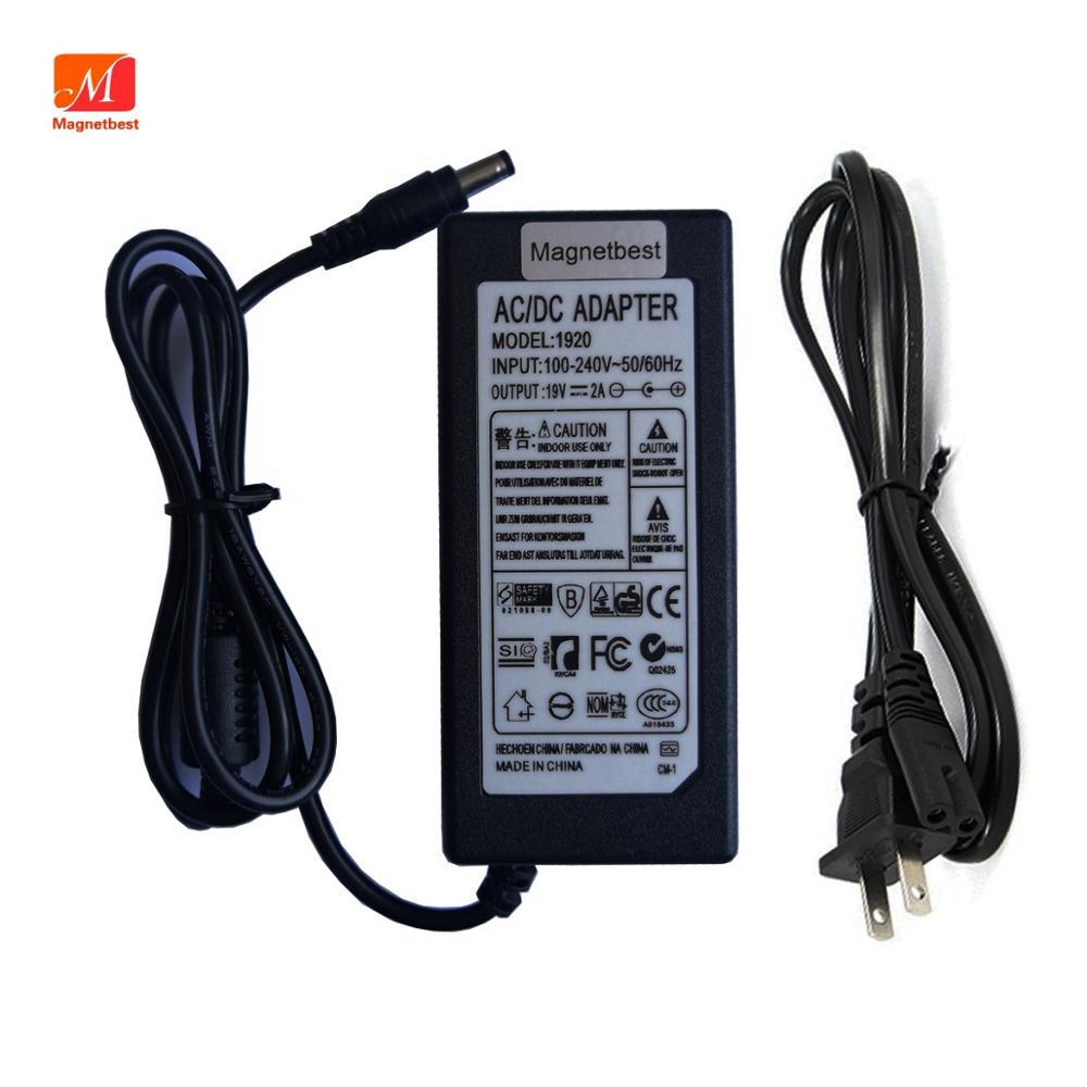 19V 2A Cargador/adaptador de corriente para harman / kardon Onyx Studio 1, 2, 3, 4 Altavoz inalámbrico portátil fuente de alimentación