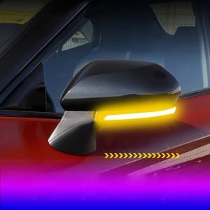 Автомобильные аксессуары для Toyota Camry 2018-2020, Для Avalon 2019 2020 динамический сигнал поворота светильник s светодиодный боковое зеркало мигалка светильник