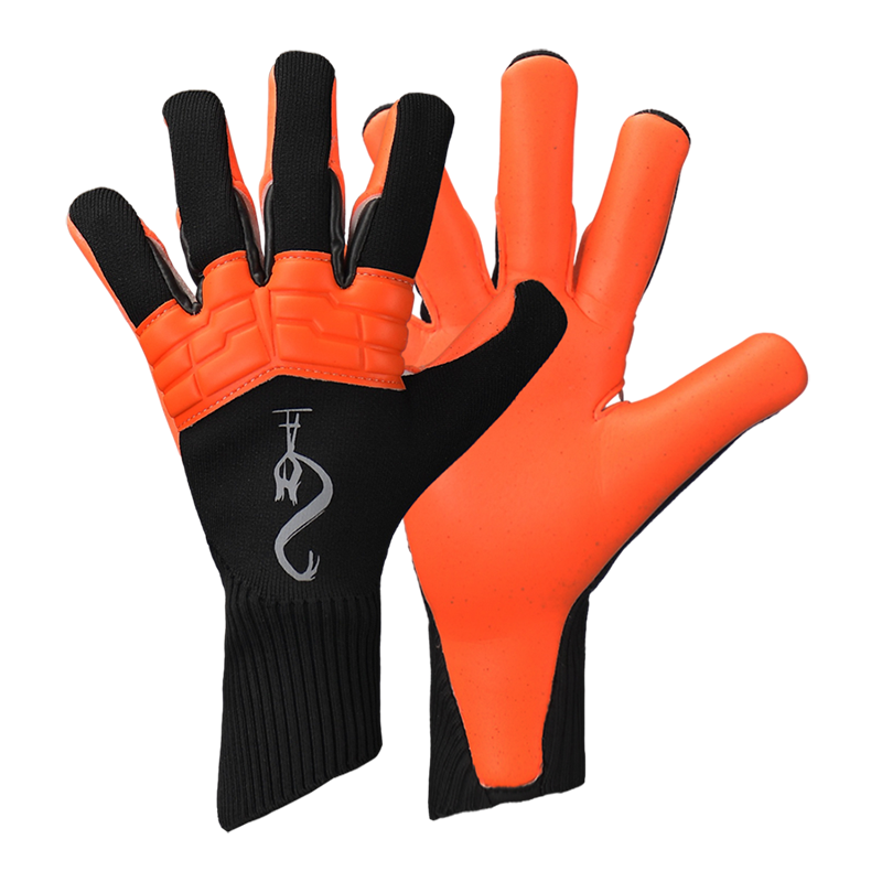 2021 New Non-Slip Latex Gloves Professional Soccer Goalkeeper Gloves Children Adult Football Training Goalkeeper Glove Size 7-10