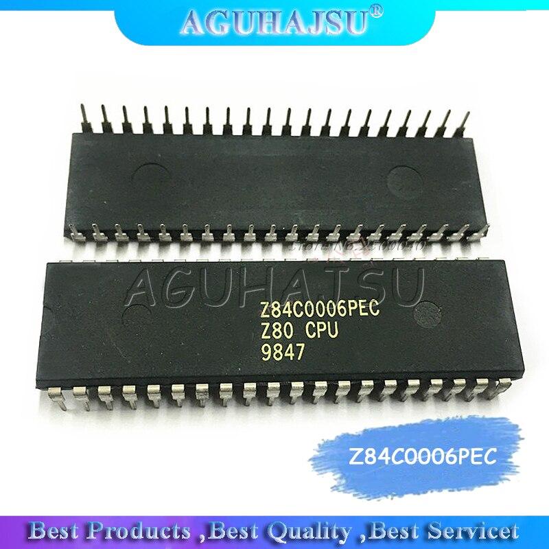1 unidad z84c0006piezas Z80 Z84C0008 CPU DIP-40 Unidad Central de procesamiento circuito integrado IC