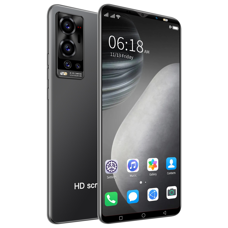 Hot Sale X70mini Smartphone 5.1 inch HD+ MTK6889 Android 10 Cheap Mobile Phone 10-core 1080*2320 5G 6GB+128GB 24MP+48MP 4800mAh