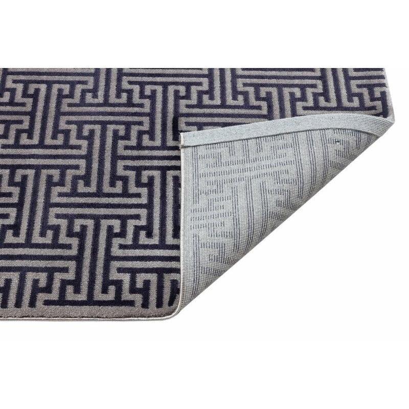 Alfombra de Corredor Azul Marino de lana Apex Classy 3 x 10