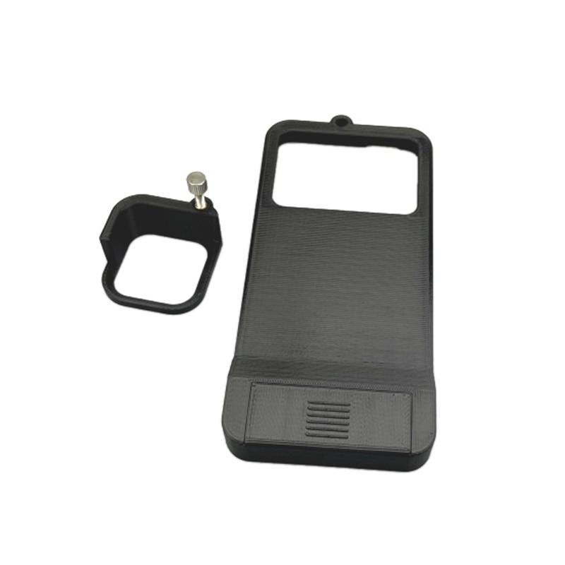 Placa de montaje intercambiadora de adaptador Gimbal de mano para GoPro Hero 8 Cámara negra placa de montaje intercambiadora adaptador de placa de montaje para DJI Osmo Mobile 3