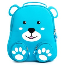 Cocomilo Brand 3D Bear Kids Cartoon Animal Backpacks Schoolbag Kindergarten Anti-lost Waterproof Sch