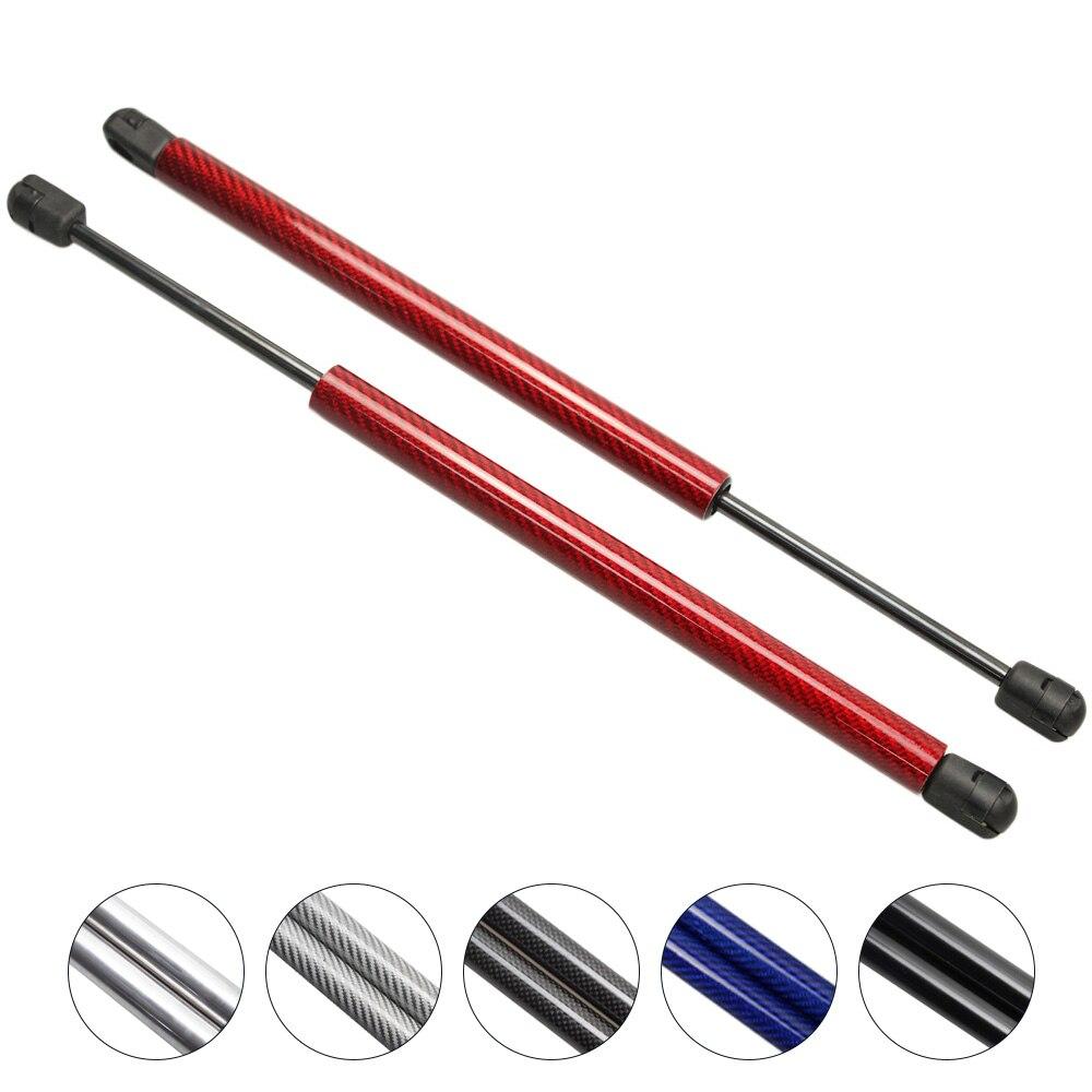 Para Kia Rondo Hatchback 2007-2010 Liftgate Hatch Boot fibra de carbono Gas resorte soporte puntales varilla brazo las crisis de 22,44 pulgadas