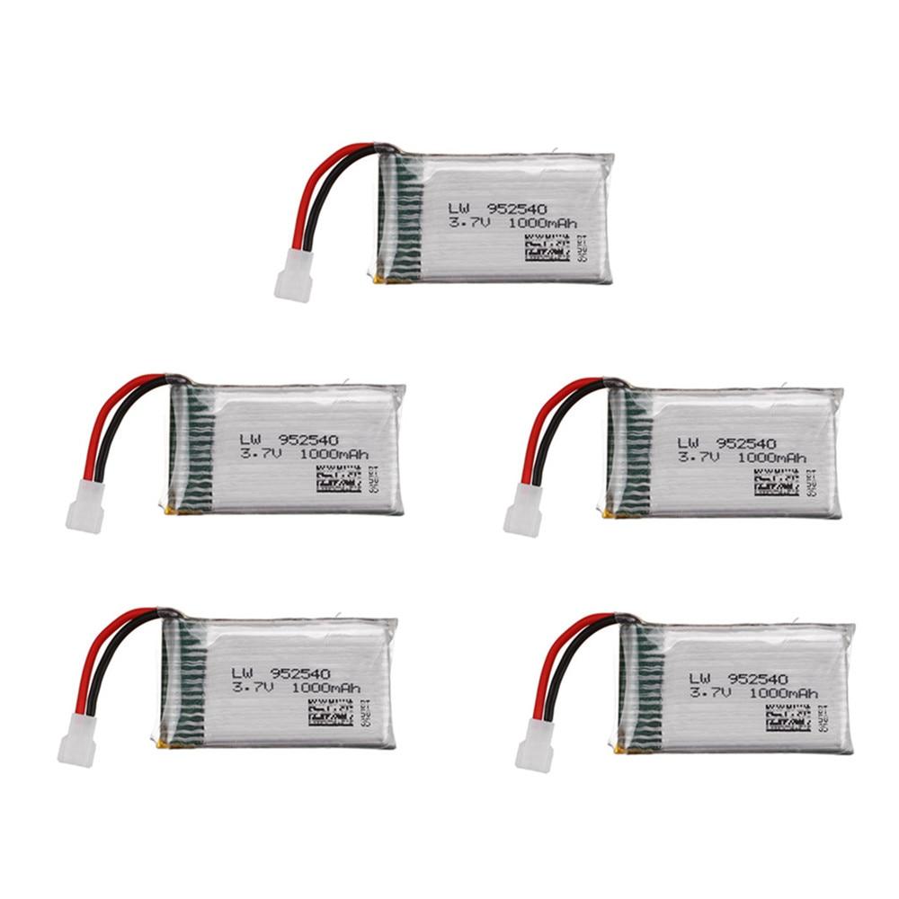 3.7V 1000mAh Battery For Syma X5 X5C X5C-1 X5S X5SW X5SC V931 H5C CX-30 CX-30W Quadcopter Spare Part