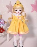 16 scale bjd doll cute kid girl bjdsd resin figure doll diy model toy gift full set with clothesshoeswig a0157cream yosd