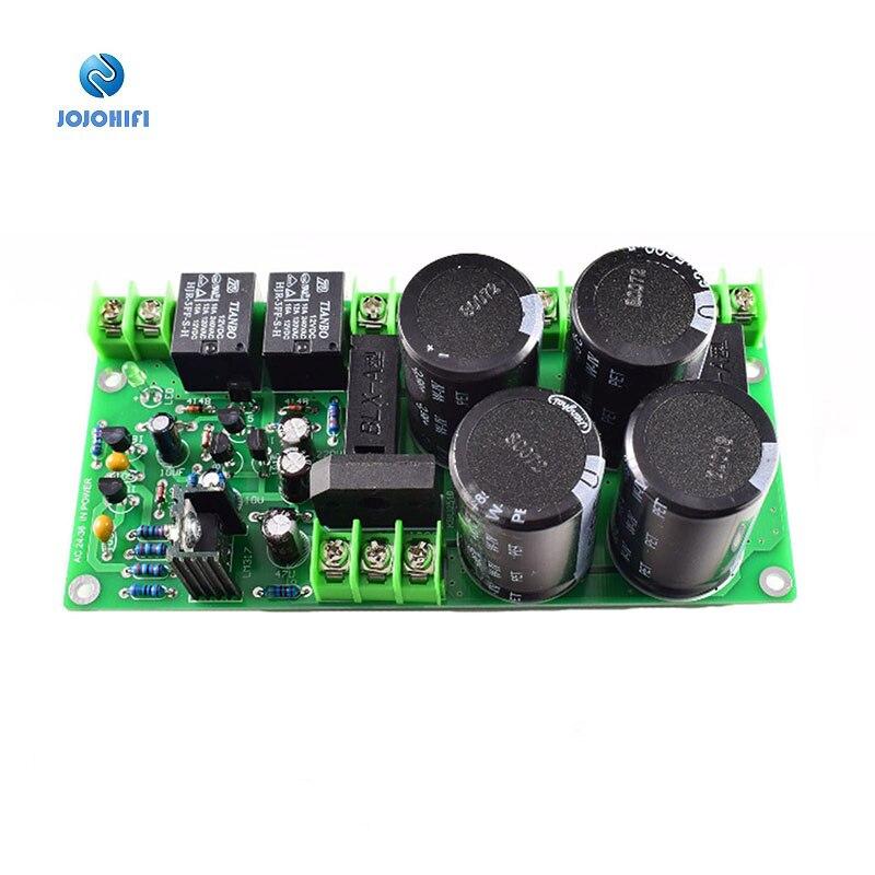 Tablero de filtro rectificador 63V 5600UF con protección de altavoz para placa ensamblada de amplificador de potencia L10