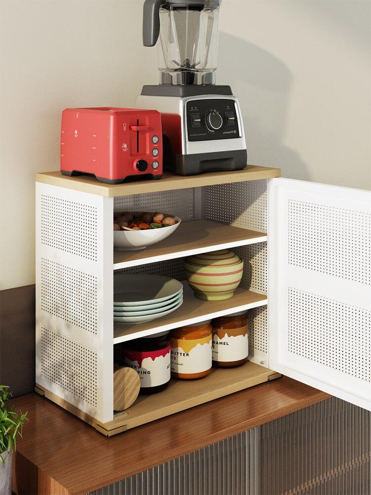 تهوية منع الحشرات أربعة جوانب Gridding خزانة موجزة المنزلية مطبخ خزانة سطح المكتب طبق تجفيف مجلس التخزين