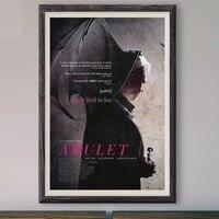 M011     affiche en soie personnalisee  amulette  film classique  a la mode  decoration murale  cadeau de noel  2020