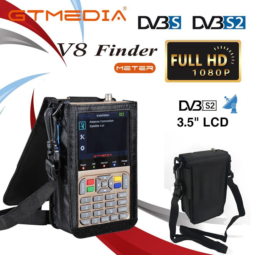 GTMEDIA V8 de buscador de Satélite DVB S2 Digital de alta definición se sentó de DVB S2X HD 1080P satélite de Satfinder freesat
