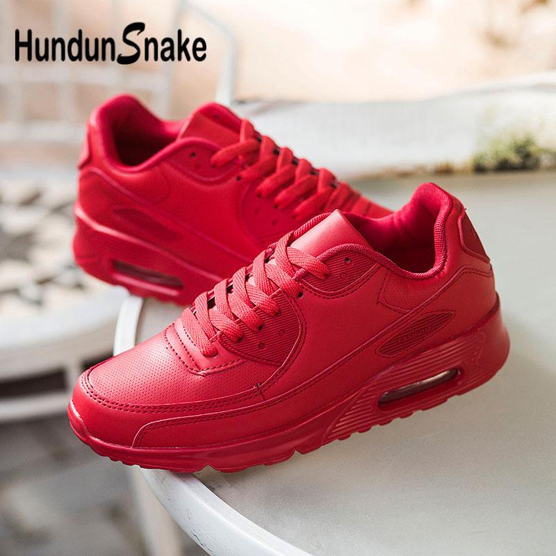 Zapatillas De piel De serpiente Hundunsnake para Hombre, Zapatillas Deportivas con amortiguación De aire para Hombre, calzado deportivo rojo para mujer, calzado deportivo para hombres, calzado deportivo G-28