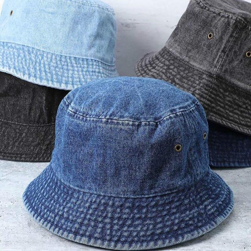 Однотонная женская шляпа для рыбалки, шляпа от солнца на открытом воздухе, четыре сезона, модные Панамы для влюбленных