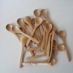 """Agitador de madeira de 10 3 """"pçs/set polegadas, colher de madeira ecológica, utensílios de cozinha, colher de chá de mel de bambu, agitador 5.1"""