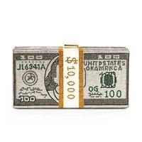 women crystal usd painted money bag designer wallet clutch purse luxury diamond wedding party dinner evening clutch bag handbag