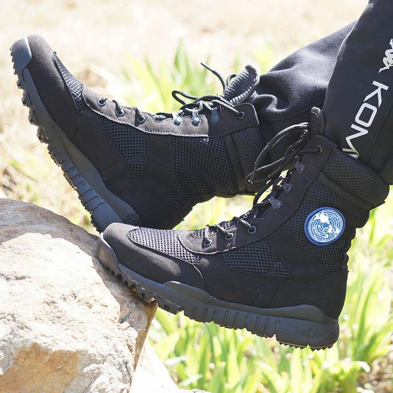 أحذية قتالية تكتيكية أصلية خفيفة الوزن للغاية 07 ، أحذية تدريب خفيفة الوزن ومسامية للرجال ، أحذية صيفية للقوات الخاصة