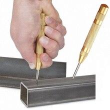 Outil de poinçon central automatique anti-dérapant outil de forage en acier inoxydable outil de trou de marquage à ressort