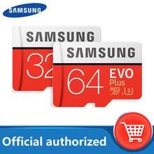 Carte mémoire SAMSUNG 256 go 32G 64G 128G 16 go SDHC SDXC 80 mo/s EVO + Micro SD classe 10 Micro SD C10 UHS TF carte Micro Flash