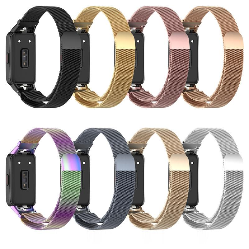 Stainless Steel Metal Wrist For Huawei Honor Band 6 Strap Smart Wristband Replacement Watch Belt for Honor Band 6 Bracelet