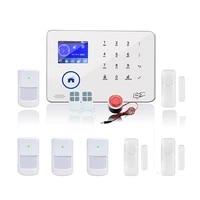 Systeme dalarme de securite domestique sans fil  wi-fi  GSM WCDMA  clavier BL-6600  peut fonctionner avec une camera ip