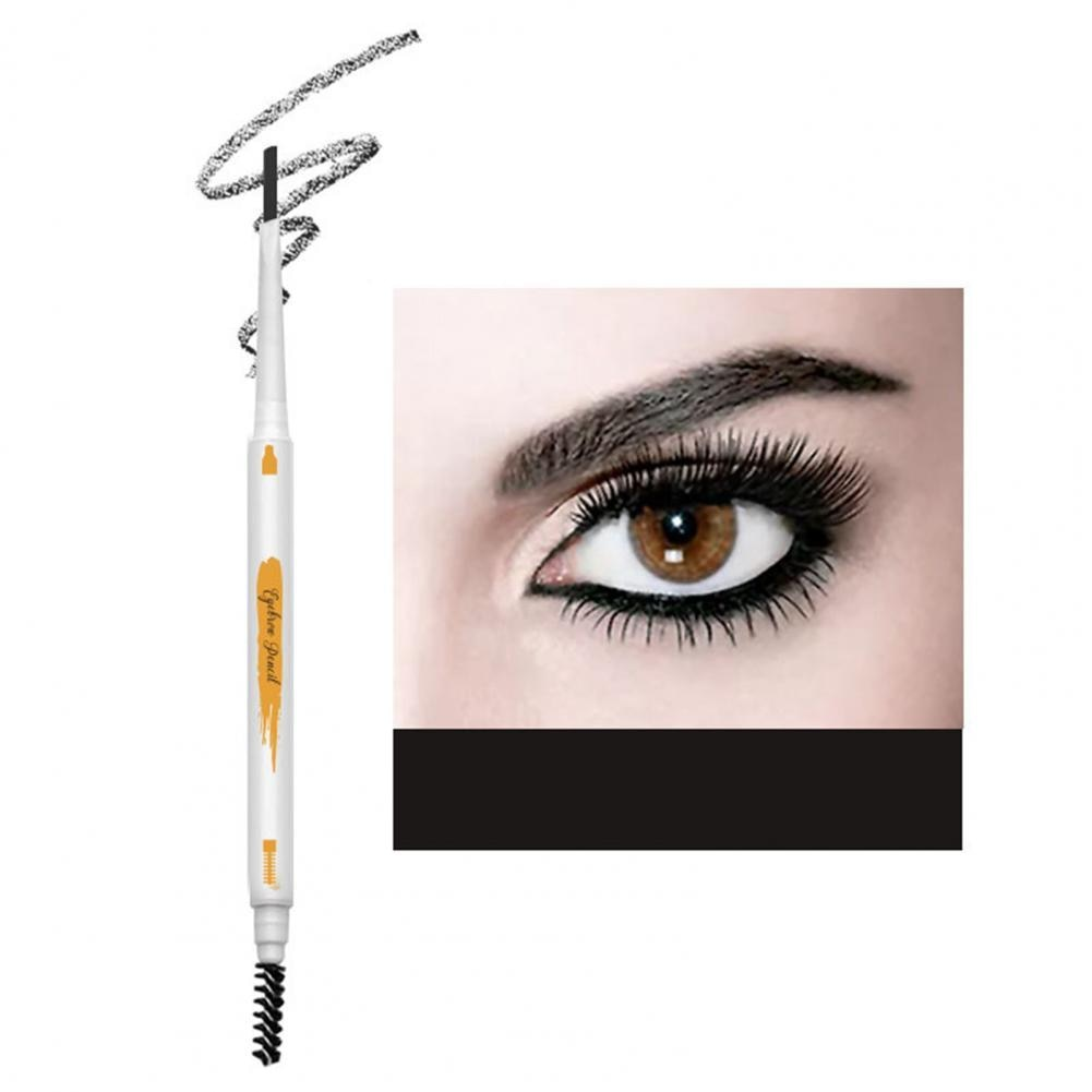 0.1g Eyebrow Pencil Double-headed Waterproof Triangle Refill Women Fashion Eyebrow Liner for Makeup