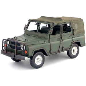 Iron handicraft decoration welding decoration off-road vehicle military vehicle model creative household ornaments