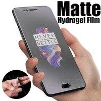 Пленка защитная матовая Гидрогелевая для OnePlus Nord N100, N200, 8, 9 Pro, 7T, 8, 8T, 2 шт.
