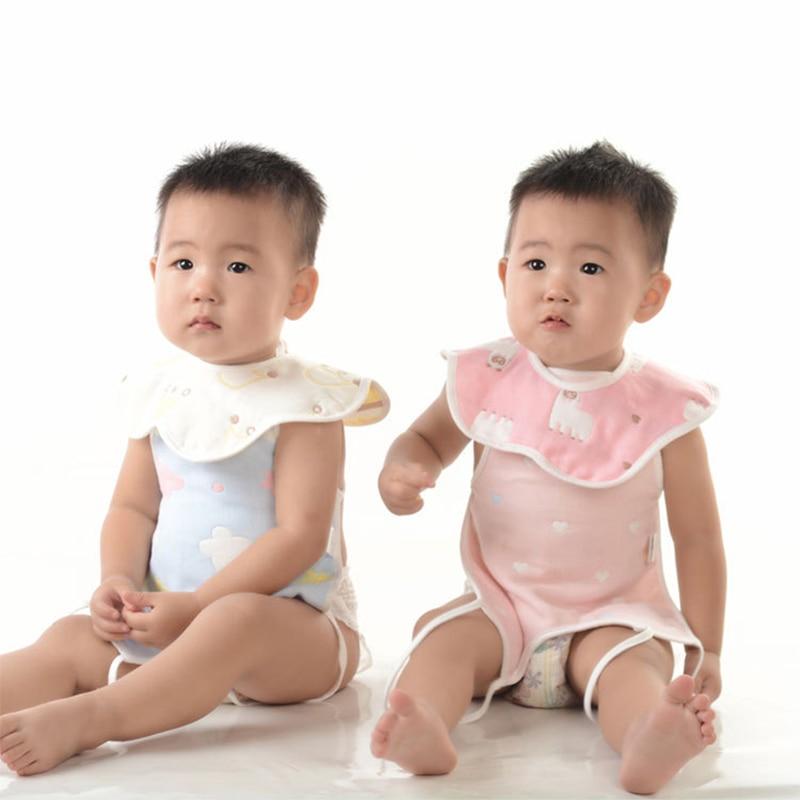 Детские слюнявчики, Детские хлопковые шестислойные Лепестковые 26x26 см, марлевые Слюнявчики для новорожденных с мультяшным рисунком, детский шарф для кормления Нагрудники и слюнявчики      АлиЭкспресс
