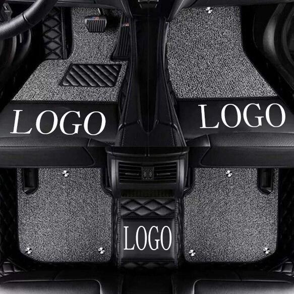 Car Floor Mats With Logo Brand Logo For Mercedes Benz W203 W204 W205 C Class 180 200 220 250 300 350 C160 C180 C200 C220 C300 C3 Aliexpress