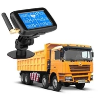 u901 auto car truck tpms car wireless tire pressure monitoring system with 6 external sensors replaceable battery lcd display