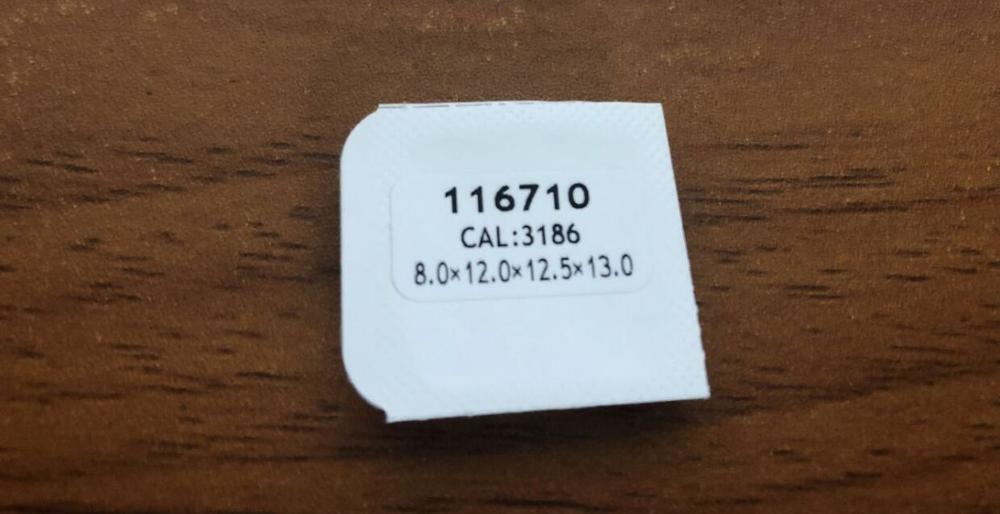 Envío gratis 1 juego GMT-3186 manecillas de reloj luminosas para movimiento 3185 - 3186 116710