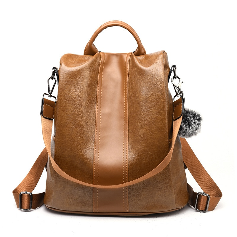 2020 mochilas de cuero antirrobo para mujer Sac A Main Luxury bolsos grandes de hombro para mujer mochila escolar para estudiantes para chicas