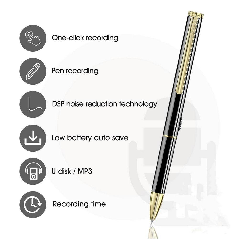 المخرب مسجل صوت رقمي القلم 8 جيجابايت 16 جيجابايت مسجل الصوت مشغل MP3 ضياع الحد من الضوضاء صوت ستيريو إملاء V6