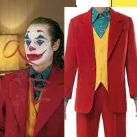 movie joker cosplay costume joker cosplay costumes men cosplay suits uniforms formal clothing full sets clothes halloween anime