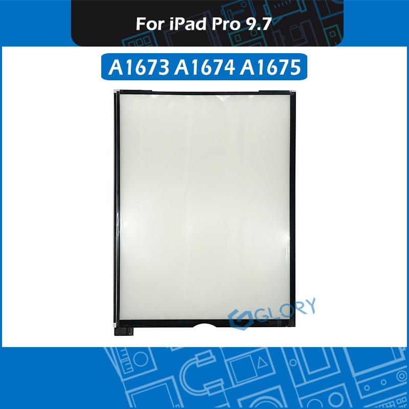 Para o iPad 9.7 Pro A1673 A1674 A1675 Folhas de Papel Tela LCD Backlight Display LED Folhas Reflexivas Traseiras
