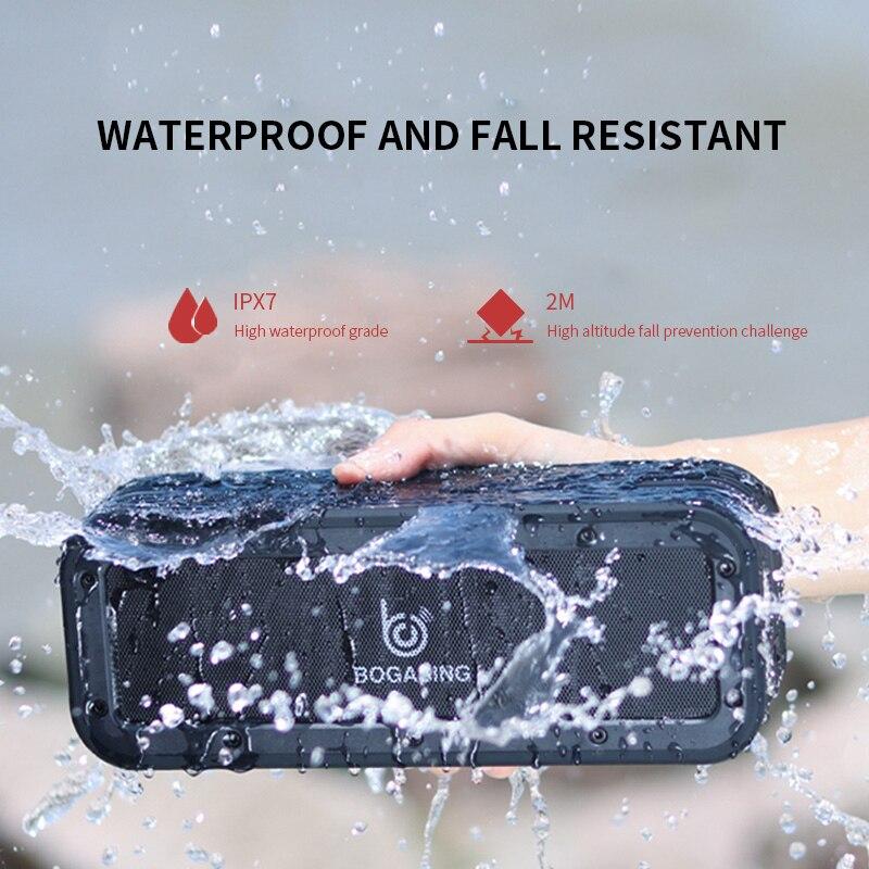 Alatour M4 40W Bluetooth Speaker Wireless Bass Subwoofer  Outdoor Speakers waterproof AUX TF USB Stereo Loudspeaker Music Box enlarge