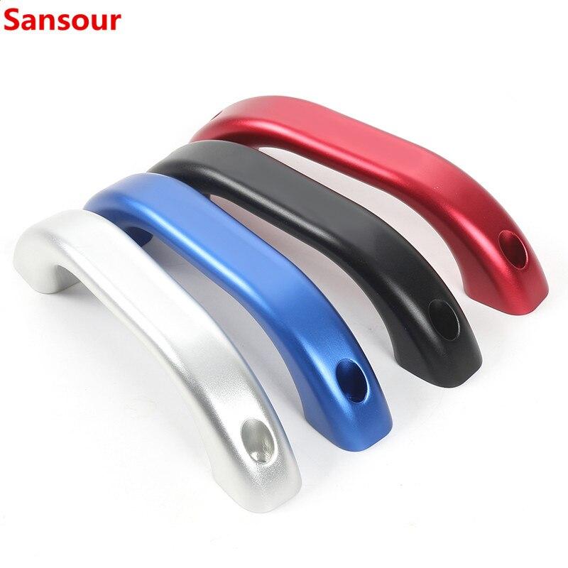 Reposabrazos Sansour para Jimny 2019 + Accesorios de la cubierta de la manija del agarre del techo del coche para Suzuki Jimny 2019 2020