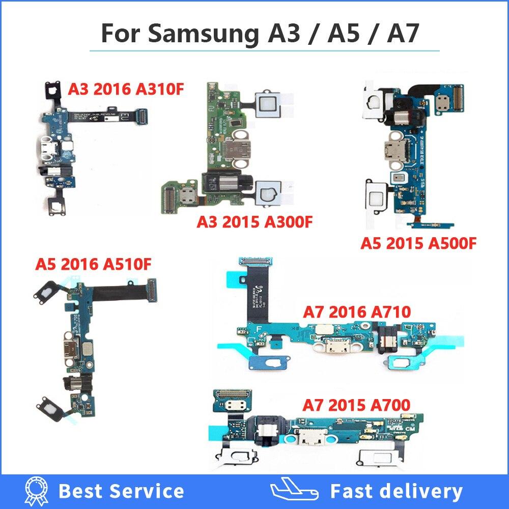 Cabo flexível do conector da doca do porto da carga para samsung galaxy a3/a7/a5 2016/2015 SM-A510F a510/a500 f cabo de carregamento usb da doca