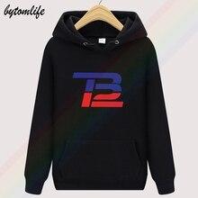 Loo Show Tom Brady TB 12 Logo automne unisexe haut à capuche hommes mode laine vêtements sweat pull taille asiatique