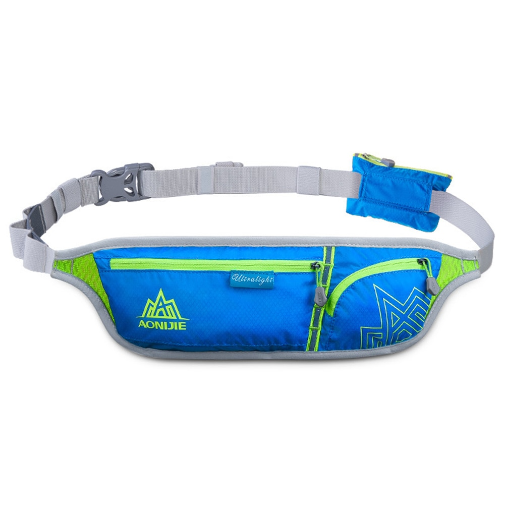 Riñonera deportiva antirrobo para exteriores, bolsa para teléfono Ultra ligera Invisible y transpirable para correr, para hombre y mujer ZJ55