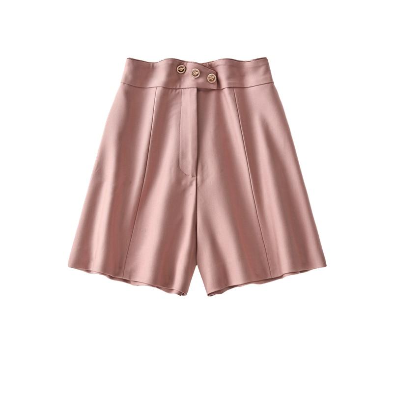 shuchan women shorts summer 2021 fashion women clothing pants casual  half