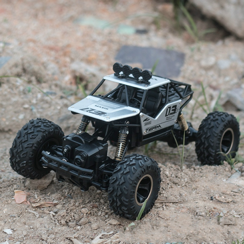 Adult Kid toys 1:16 4 channel 4WD 2.4G high speed gun type Remote control RC drifting climb cross-country car jeep Children gift enlarge