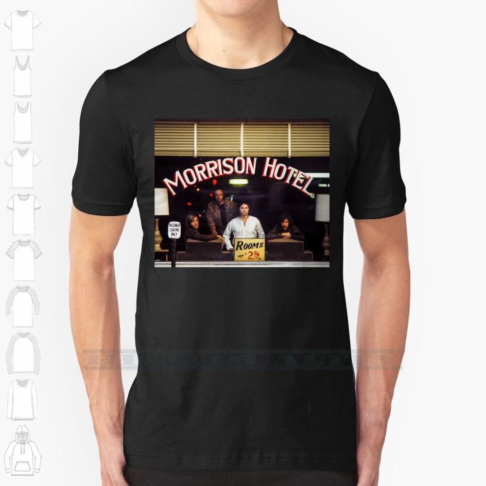 Morrison Hotel ( Hq ) Custom Design Print For Men Women Cotton T shirt Big Morrison Hotel Doors Music