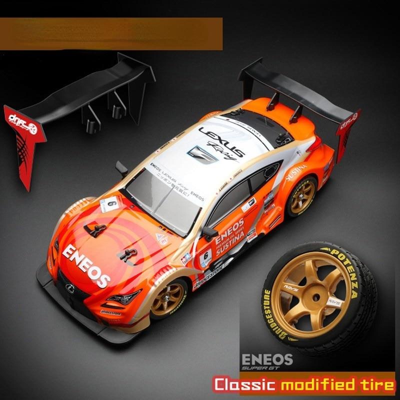 2021 NEW High-speed Remote Control Car Adult Drift Racing Sports Car Model 1 / 16 Four-wheel Drive Charging Electric Car PVC Car enlarge