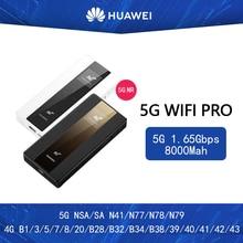 Huawei 5G Mobile WiFi Pro E6878-370 5G NSA/SA n41/n77/n78/n79 4G B1/3/5/7/8/20/B28/B32/B34/B38 /39/40/41/42/43 8000Mah batterie externe