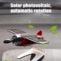 solar car airplane ornaments bombing plane air freshene men car perfume personality decoration aromatherapy interior