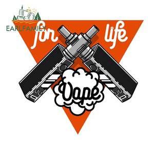 Earlfamily 13cm x 11.4cm para vape ecigarette graffiti carro adesivo protetor solar decalque anime gráficos corpo para carro para jdm suv rv